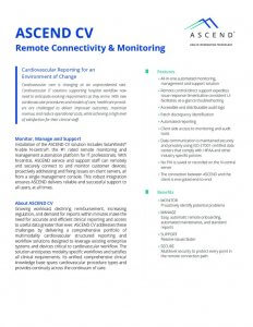 thumbnail of ASCEND CV Remote Connectivity and Monitoring